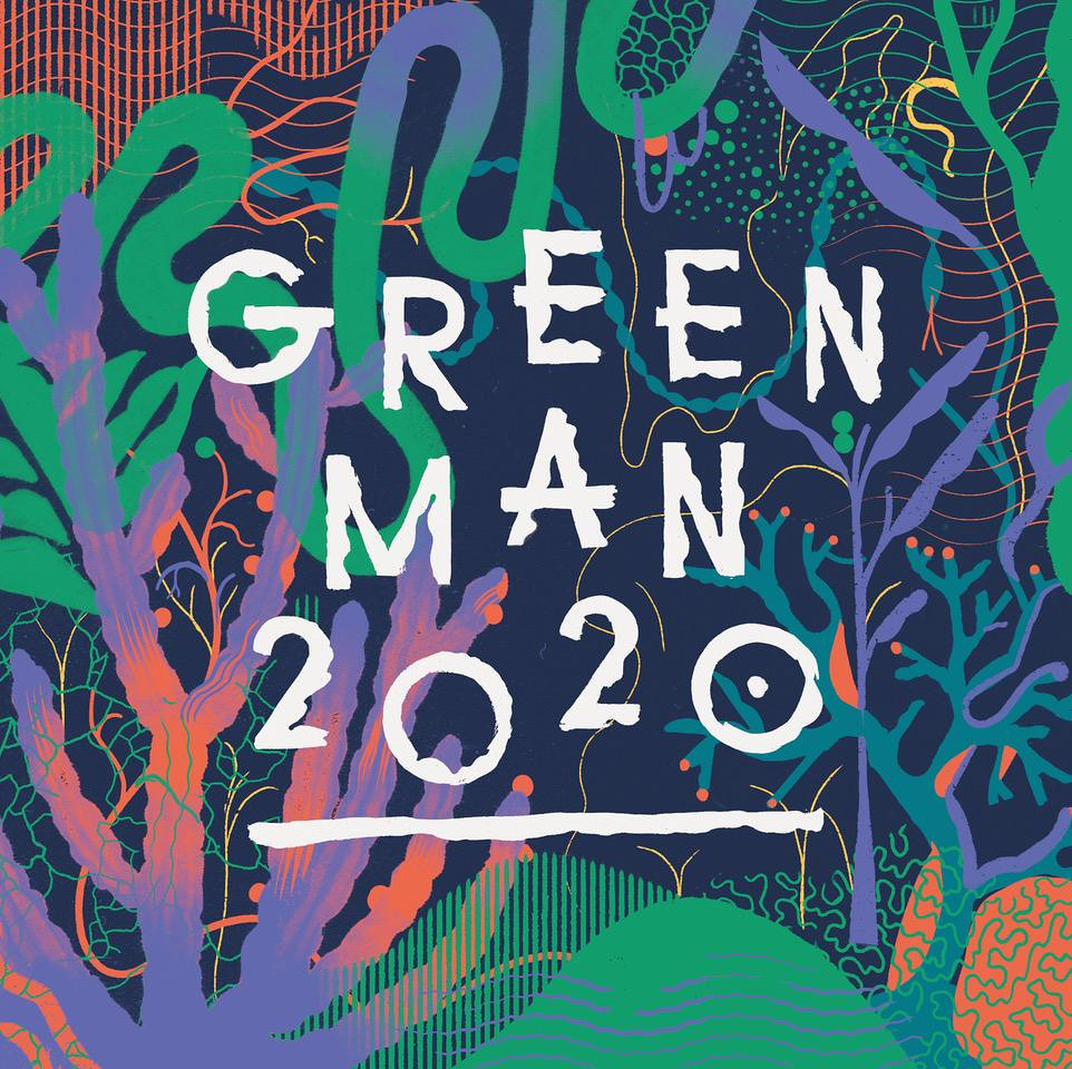 The logo of Greenman festival