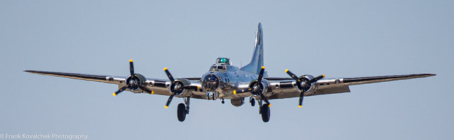 Flying Legends B-17 at Nampa Airport