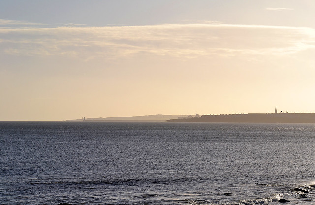 Tynemouth and Whitley Bay from St Marys Island