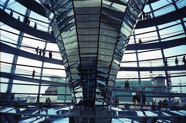 Kuppel des Reichstagsgebäude Berlin