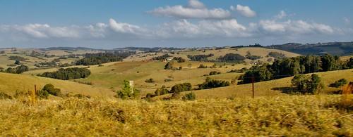 australia hills nsw rural waterfallway driving crop pasture homestead
