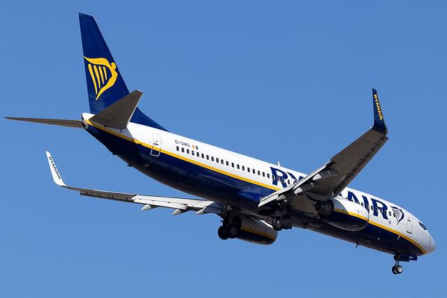 EI-DWG Ryanair B737-800 Madrid Barajas Airport
