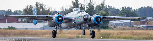 Flying Legends B-25 at Nampa Airport