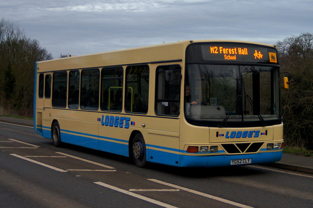 School Cadet: Lodge's Coaches DAF SB120/Wright Cadet YG52CLY Stansted Road Stansted Mountfitchet 16/01/20