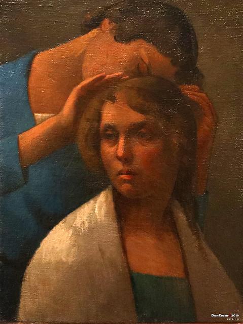 Two Women, ca. 1920/28, Julio Gonzalez, 1876-1942