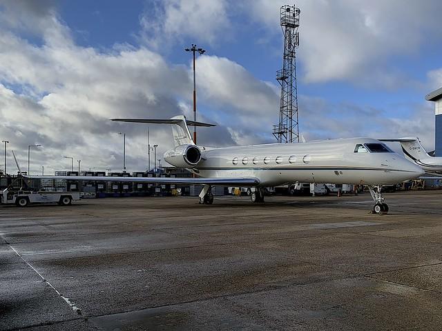 M-HERI Gulfstream G550 LTN 12Jan2020