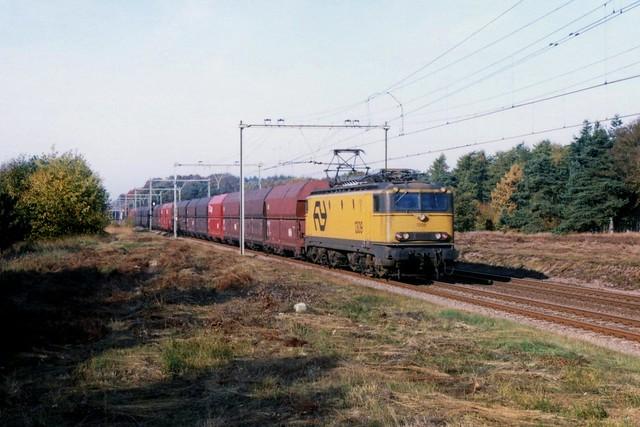 NS 1309 op de Ginkelse Heide op 24-10-1996 (SCAN)