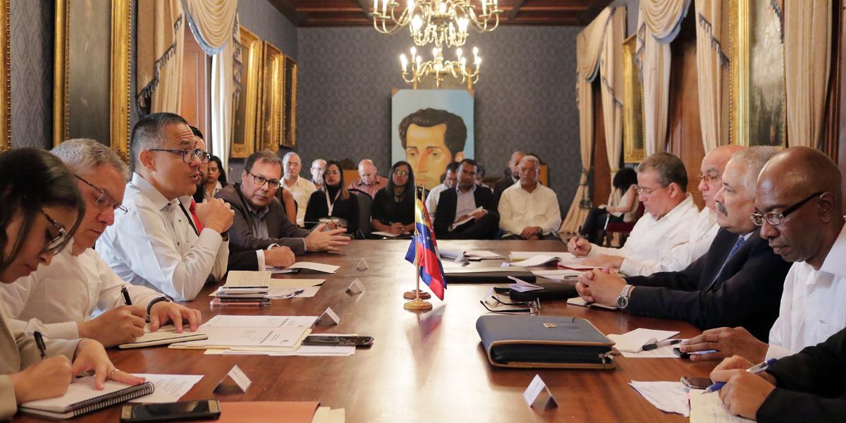 Instalan la XX Reunión de la Comisión Intergubernamental del Convenio Integral de Cooperación Cuba – Venezuela
