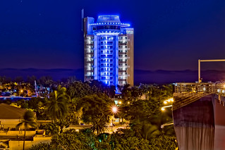 Pier Sixty-Six Hotel & Marina, 2301 SE 17th St, Fort Lauderdale, Florida, USA /  Built: 1965 (remodeled: 2022) / Floors: 17 /  Height: 221 Feet / Architect: Richard F. Humble / Architectural Style: Mid-Modern Architecture