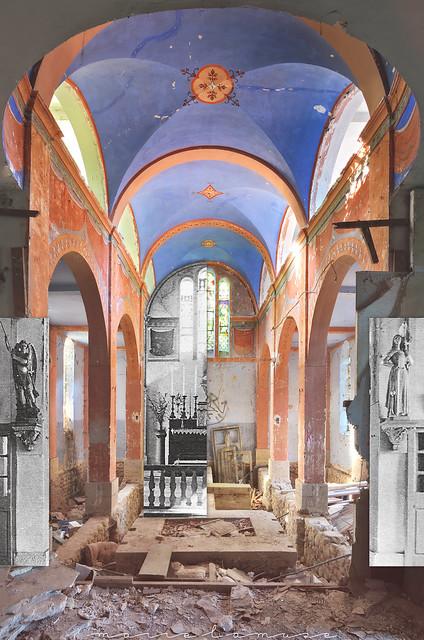 Urbex ✧ Le couvent aux Vasques, 2016 + milieu du XXe siècle