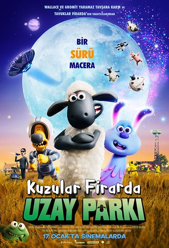 Kuzular Firarda: Uzay  Parkı -A Shaun The Sheep Movie:  Farmageddon (2020)
