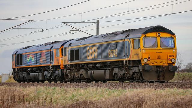 Class66  No. 66 66733 -- No. 66742 GB Railfreight