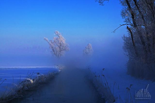 Frosty morning near Murnau