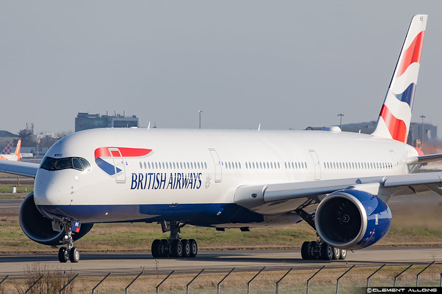 British Airways Airbus A350-1041 cn 386 F-WZGP // G-XWBE