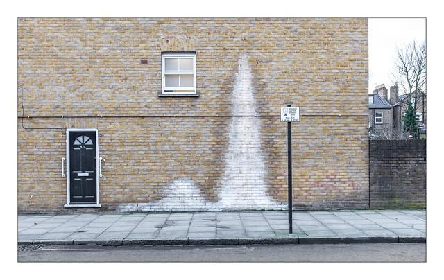 The Built Environment, Shacklewell, Hackney, East London, England.