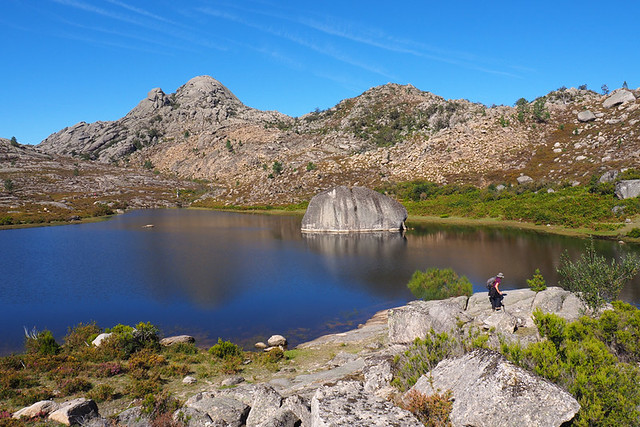 The mountain lake, Peneda Geres, Portugal
