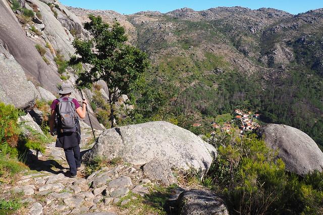 Descending to Peneda, Peneda Geres, Portugal