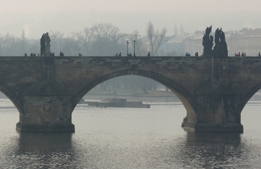 Central or Eastern Europe? Prague in the fog