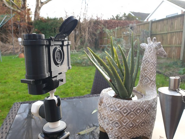 Meet my 3d printed pinhole Camera