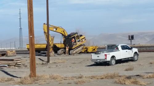 Self-Loading Excavator