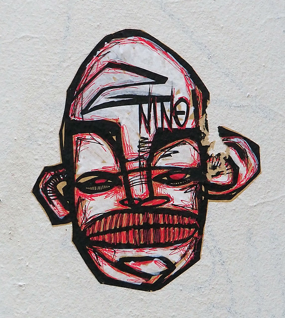 Pasted paper by Nino Salegueule [Lyon, France]