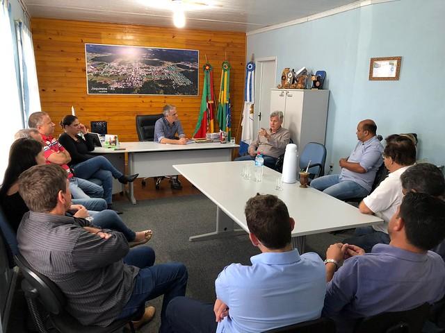 16/01/2020 Reunião Prefeitura de Jaquirana