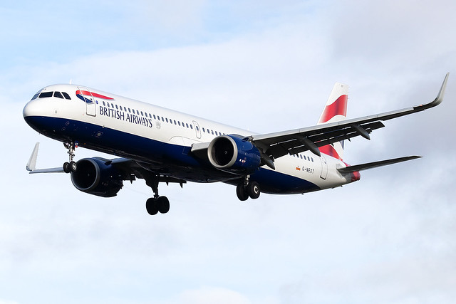 G-NEOT British Airways A321neo London Heathrow Airport