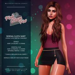 Serena Cloth Skirt @ Fly Buy Friday!