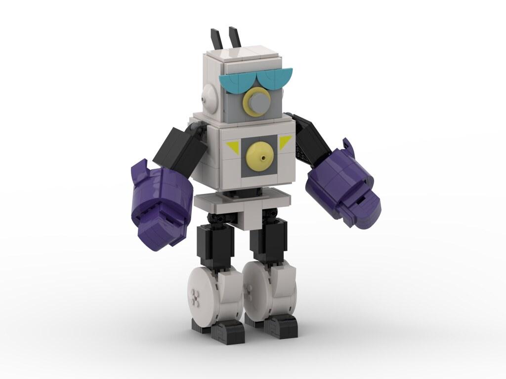 Robo Dexo 2000 Orthogonal View