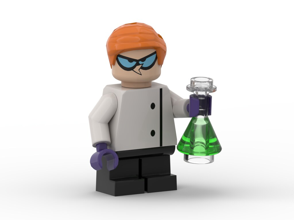 Dexter Minifigure with Flask