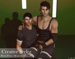 Creative Stylez - Bento Poses -Sit on my Knee, Bro -