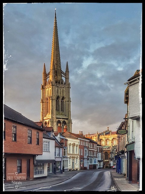 St James' church in Louth