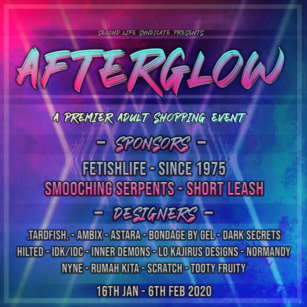 Afterglow Poster Jan 2020