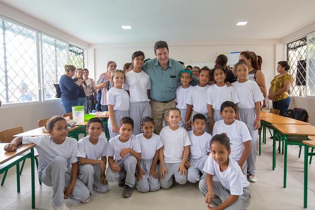 Reapertura Escuela de Educación Básica 5 de mayo - Cantón Baba - Los Ríos