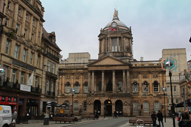 The Town Hall, Liverpool, England