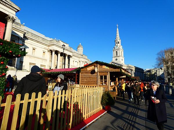 marché de Noël trafalgar square