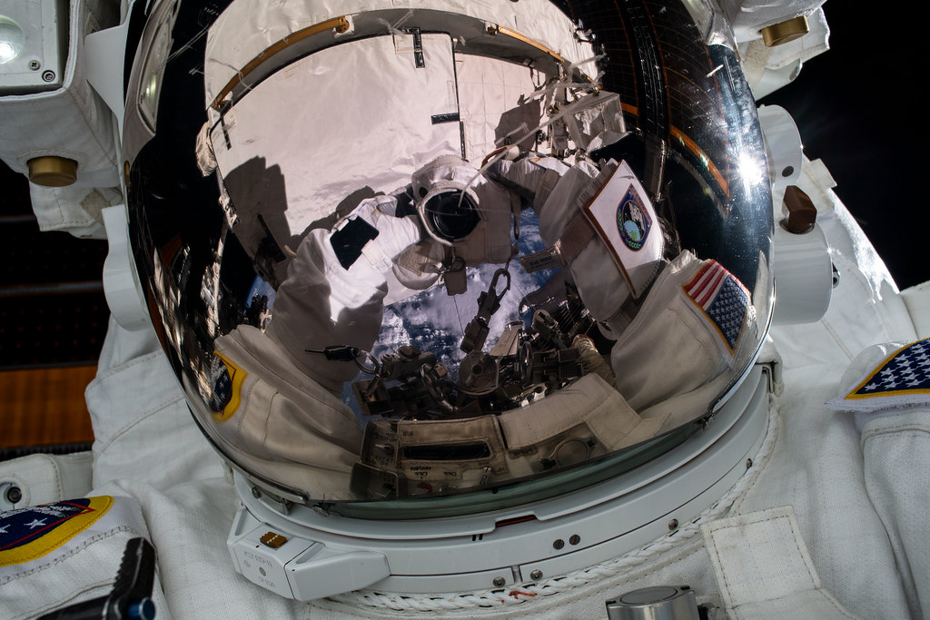 NASA astronaut Jessica Meir takes an out-of-this-world 'space-selfie'