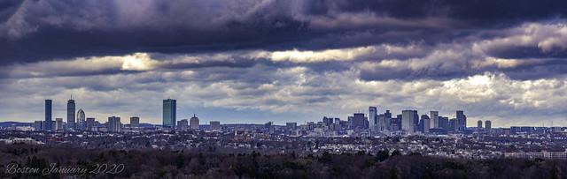 Boston january 20