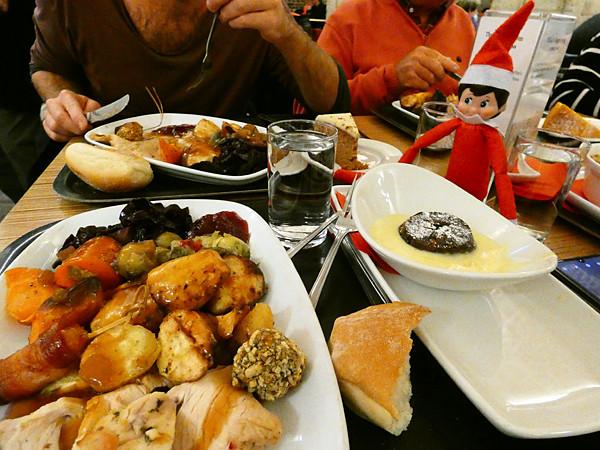 elf's dinner
