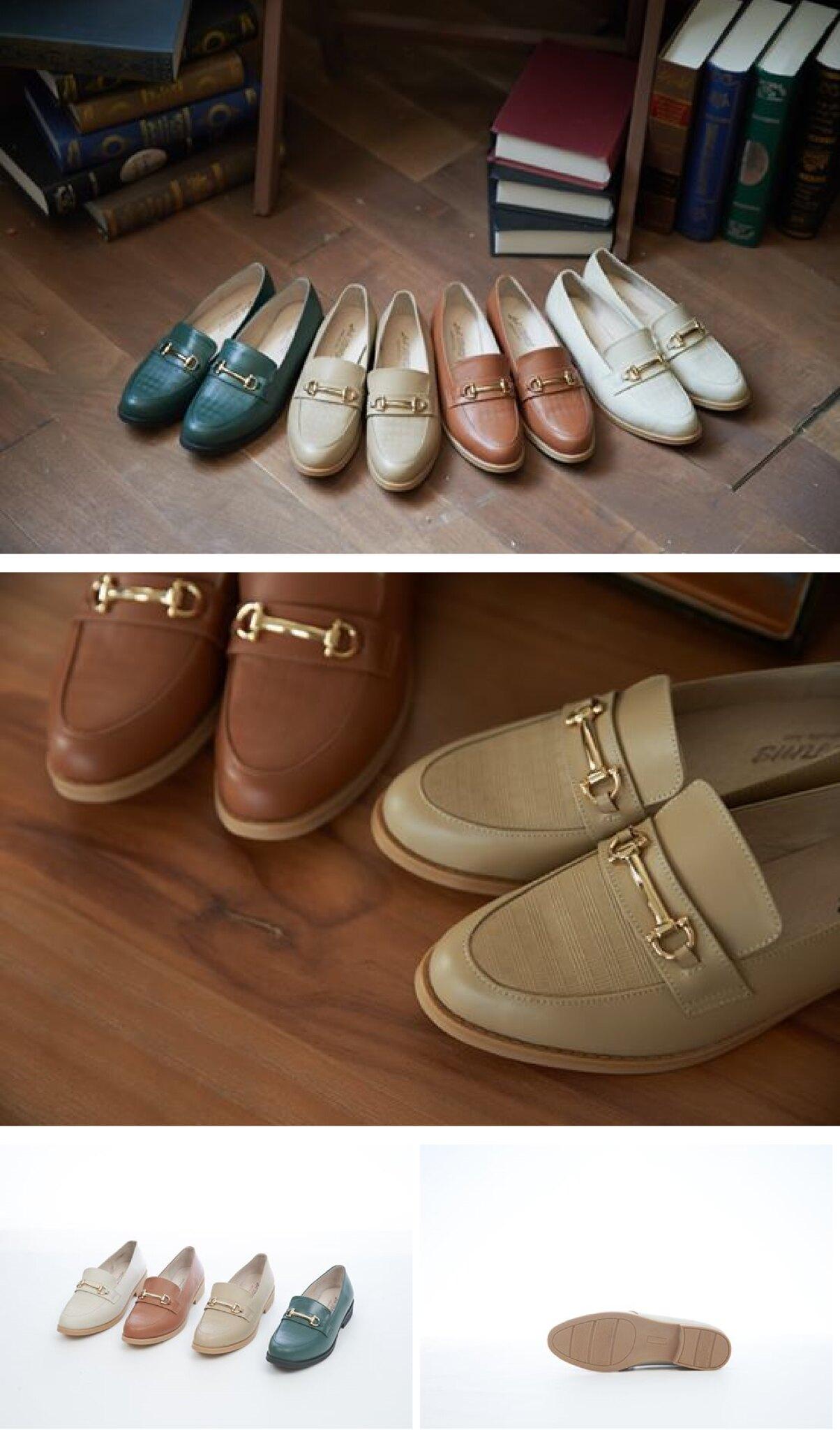 英倫風樂福鞋