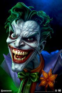 跟犯罪王子來張瘋狂的自拍吧! Sideshow Collectibles DC Comics【小丑】The Joker 1:1 比例胸像