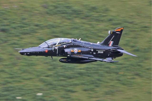 RAF BAe Hawk T2 ZK030