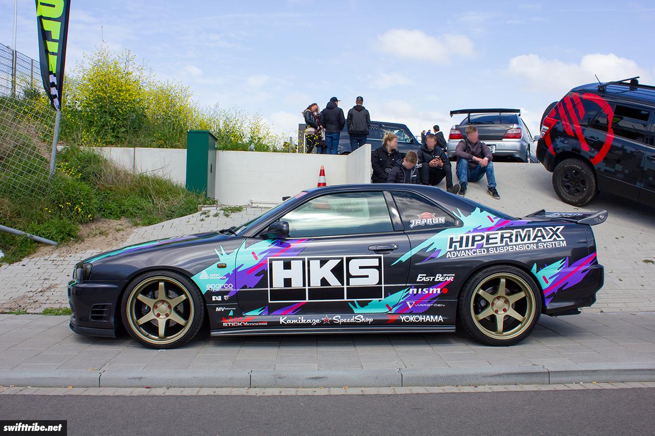HKS inspired Skyline R34