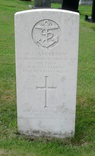 War Grave, Newburgh Cemetery