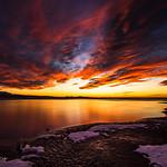 16. Jaanuar 2020 - 18:32 - Sunset on Antelope Island