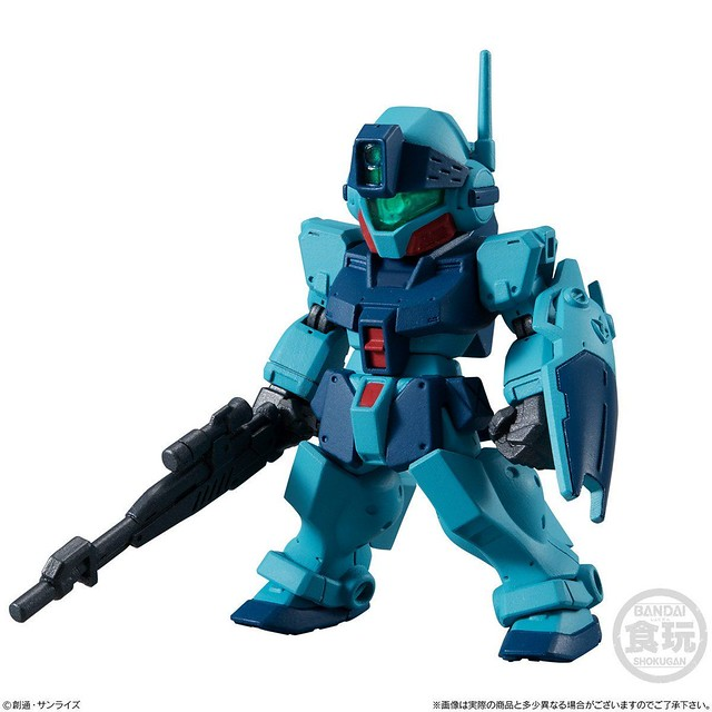 《機動戰士鋼彈》FW GUNDAM CONVERGE ♯19 第十九彈 「幽靈鋼彈」、「V鋼彈」等小型化 MS 登場!