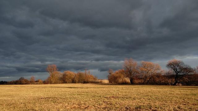 Scenery. Winter day. 06/01/2020 Ukraine, Sumy region. Lebedin