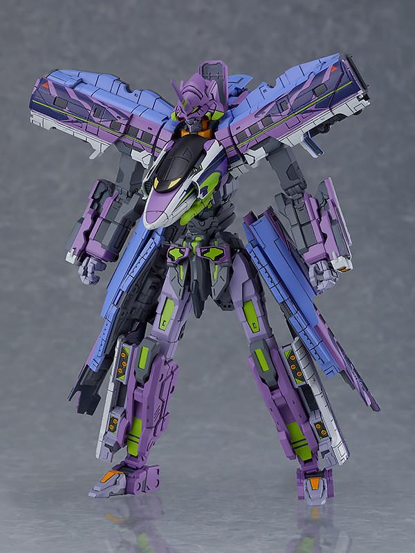 『福音戰士』夢幻合作機體也將推出組裝模型!MODEROID《新幹線變形機器人》Shinkalion(シンカリオン) 500 TYPE EVA