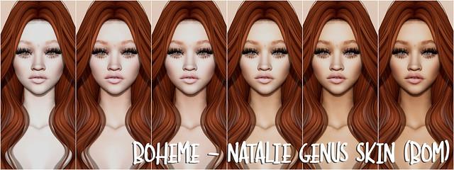 Boheme - Natalie Genus Skin (BOM)