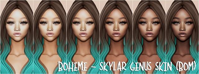 Boheme - Skylar Genus Skin (BOM)
